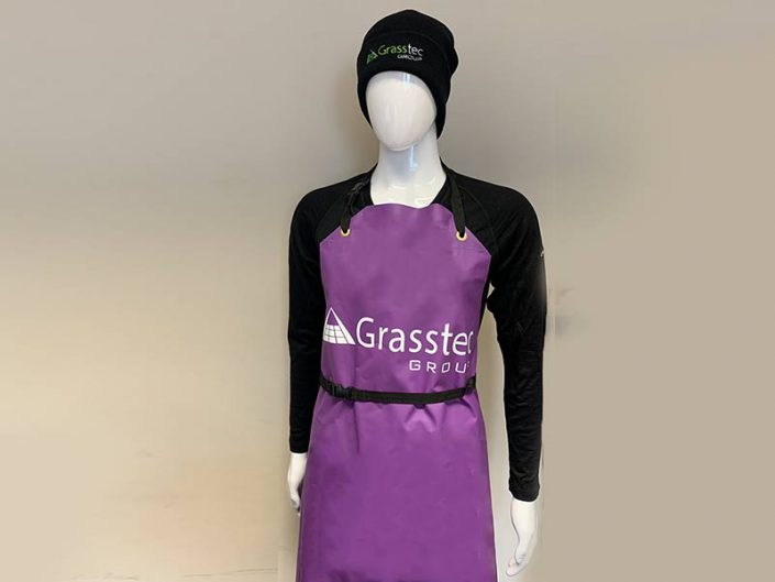 Purple Milking Apron