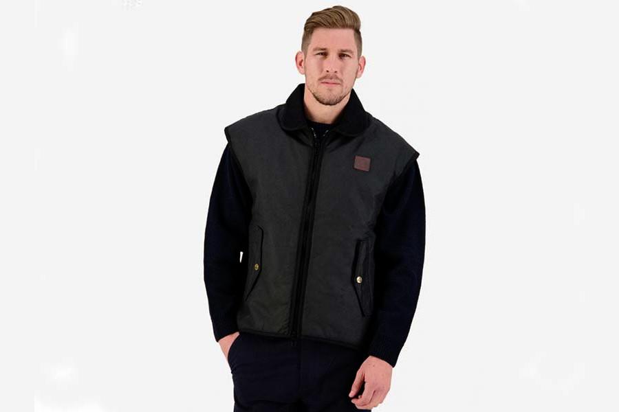 swanndri-foxton-black-oilskin-vest