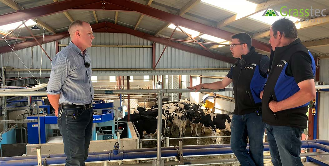 Making the Moving to DeLaval Robots