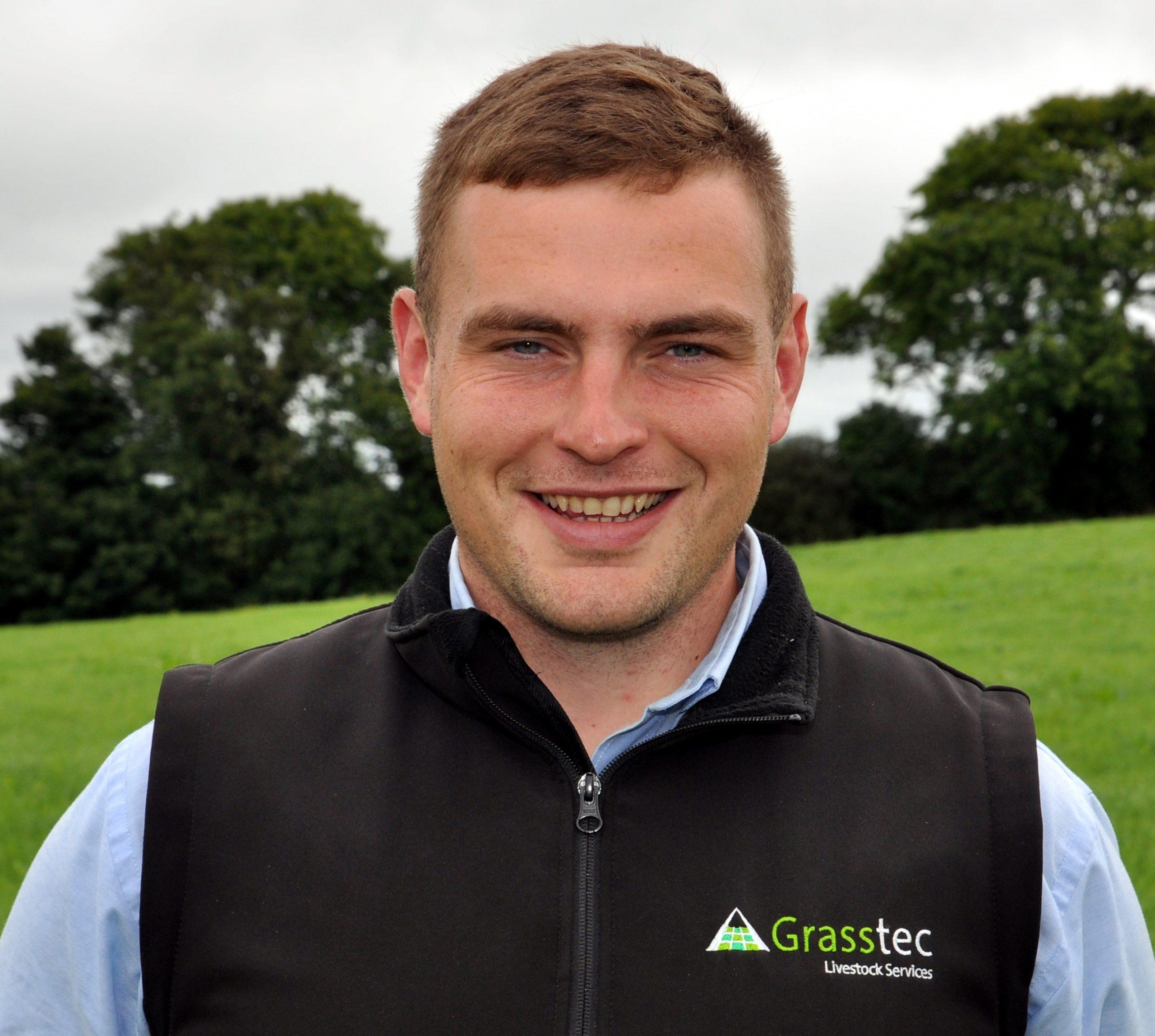 Liam Barton Grasstec Livestock Department